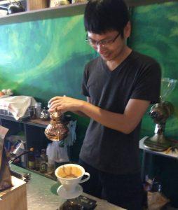 台中のミャンマーコーヒ専門店
